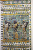 forntida babylon tre wall krigare Arkivbild