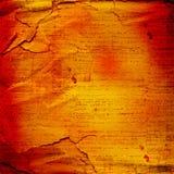 forntida bakgrund skrynklig handwritetext Arkivfoton