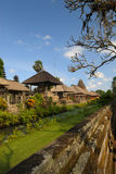 forntida bali indonesia tempel royaltyfri bild