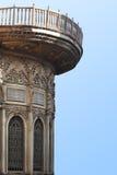 Forntida balkong Fotografering för Bildbyråer