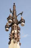 forntida barcelona lykta Royaltyfri Fotografi