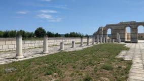 Forntida basilik Pliska Arkivbilder