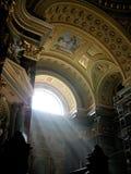 forntida basilika Royaltyfri Bild