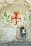 forntida beit shean israel Arkivfoto