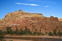 forntida benhaddoustad morocco för ait Arkivfoto