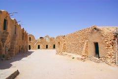 forntida berbertown Arkivbild