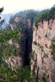 forntida berg zhangjiajie Arkivfoto