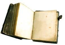 forntida bok Arkivbild