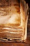 forntida bok Royaltyfri Fotografi