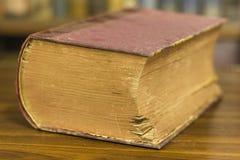 Forntida bok, slut upp Arkivfoton
