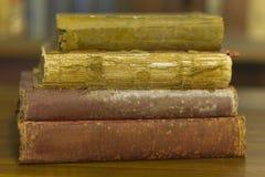 Forntida bok, slut upp Royaltyfri Fotografi