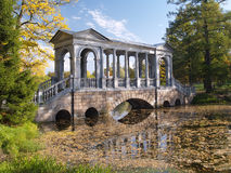 forntida bropark Fotografering för Bildbyråer