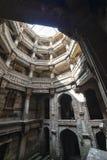 Forntida brunn i Ahmedabad Indien, Gujara fotografering för bildbyråer