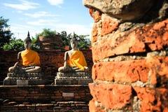 Forntida Buddha Fotografering för Bildbyråer