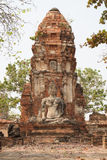 forntida buddha arkivbilder