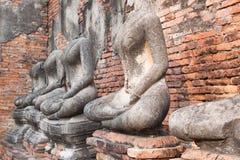 forntida buddha royaltyfria bilder