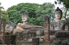 forntida buddha Royaltyfri Bild