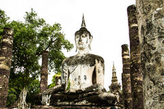 forntida buddha bild Arkivfoto