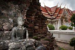 forntida buddha bild Royaltyfri Foto