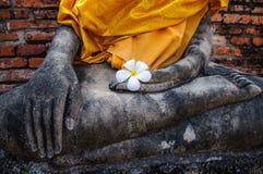 Forntida Buddha bilder Royaltyfria Bilder