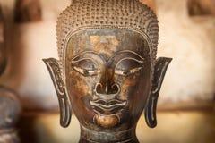 Forntida Buddha i Vientiane, Laos Arkivbild