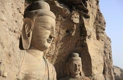 forntida buddha skulptur Royaltyfri Bild