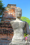 forntida buddha staty Royaltyfria Foton