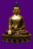 forntida buddha staty Tibet _ Arkivbild