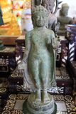 Forntida Buddha statyer Royaltyfri Fotografi