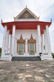 Forntida buddistisk kloster, Koh Kred Nonthaburi, Thailand Arkivbilder