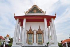 Forntida buddistisk kloster på Nonthaburi, Thailand Royaltyfri Fotografi