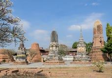 Forntida buddistisk pagod i Thailand Arkivbild