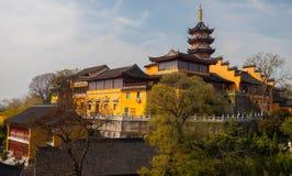 Forntida buddistisk tempel för vår Fotografering för Bildbyråer