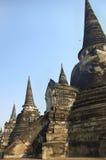 forntida buddistiska tempel Arkivbild