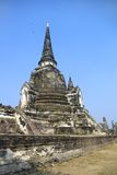 forntida buddistiskt tempel Royaltyfri Bild