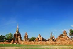forntida buddistiskt tempel Arkivfoto