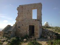 forntida byggnad Arkivbild
