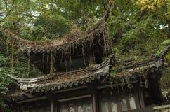 Forntida byggnad för kinesisk stil för tider Royaltyfri Foto