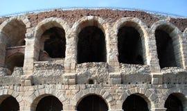 Forntida byggnad fördärvar Royaltyfria Foton
