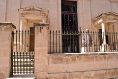 Forntida byggnad i Malta Royaltyfri Fotografi