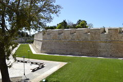 Forntida byggnad i Malta Royaltyfria Foton