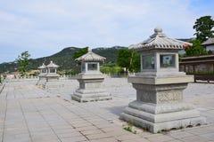 Forntida byggnader i Kina Arkivfoton