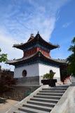 Forntida byggnader i Kina Royaltyfria Foton
