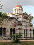 forntida byzantinekyrka arkivfoto