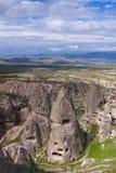 forntida cappadociagrottastad Arkivfoto