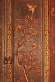forntida carvings arkivfoto