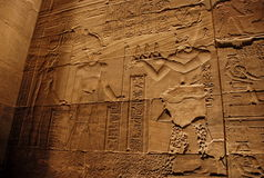forntida carvingssten Arkivbilder
