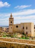 Forntida citadell, Victoria, Malta Royaltyfri Foto