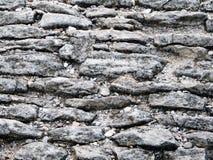 Forntida cobblestoned trottoarbakgrund Royaltyfri Bild