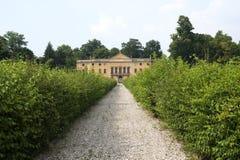forntida collieuganeiitaly veneto villa Royaltyfri Bild
